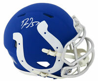 Darius Leonard Signed Indianapolis Colts AMP Riddell Speed Mini Helmet - SS COA