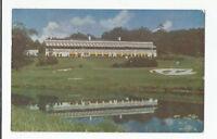 White Sulphur Springs WV The New Greenbrier Postcard PM 1952 Covington News
