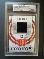 09-10 ITG Jeremy Roenick 1/19 Jersey Ultimate Redemption 2009 Fall Expo Flyers