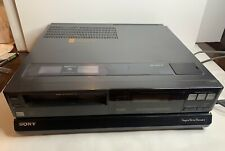 *Free Shipping* Rare Find Sony Super Betamax Theater Sl-Hft7 From Mid 80's