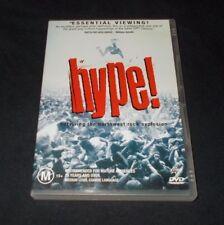 HYPE DVD REGION 4 VGC GRUNGE NIRVANA 1996 SOUNDGARDEN TAD MUDHONEY