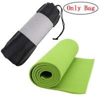 Popular Yoga Pilates Mat Mattress Case Bag Gym Fitness Exercise Workout Carri Pw