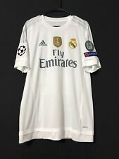 Real Madrid Sergio Ramos CL Player Issue Adizero Shirt Football Jersey