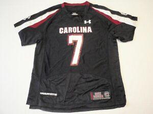 South Carolina USC Gamecocks Under Armour NCAA Football Jersey Boys Large  #7