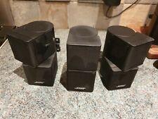 3 x bose jewel cube speakers