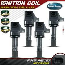Ignition Coil 4 PCS 30520R1AA01 for Acura ILX,for Honda Civic HR-V 1.8L L4,for Acura ILX 2.0L L4 2012-2017 UF672