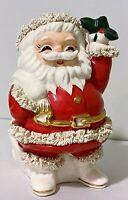 Vintage Napco Spaghetti Santa Claus Bank Ceramic