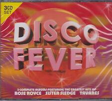 DISCO FEVER - ROSE ROYCE SISTER SLEDGE TAVARES - 3 CD'S