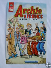 "ARCHIE & FRIENDS. ""A TIMELY TALE"". RARE, 2001 FREE MINI COMIC TOLD BY SABRINA."