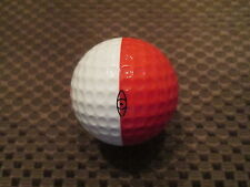 PING GOLF BALL-RED/WHITE PING #3.....9.5/10...PEBBLE BEACH GOLF LINKS LOGO.