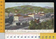 39517] SAVONA - STAZIONE LETIMBRO _ 1905
