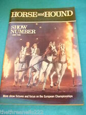 HORSE and HOUND - EUROPEAN CHAMPIONSHIPS - MARCH 11 1983
