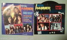 "2 X 7"" METAL HAMMER --PROMO -- SLAUGHTER-TORANAGA- WINGER -EP"
