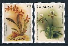 Guyana 1986 Orchids 12th issue SG 1868-9 MNH