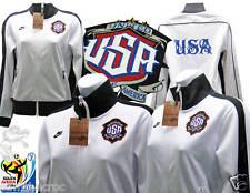 New NIKE USA Football Ladies Track Jackets Mr Cartoon Colaboration White S