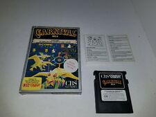 Never Used CARNIVAL French CBS version game for Colecovision RARE Complete H10