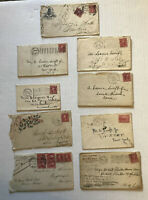 9 1900-1910 covers machine cancels, etc [y5957]