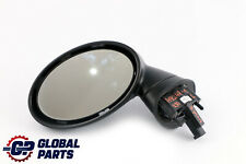*BMW Mini Cooper R50 R53 Heated Left Door Wing Mirror Base N/S 5 Pins With Glass