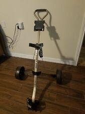 Targa 2000 Ultralight 2-Wheel Push Pull Golf Cart w Cup Holder