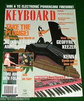 TORI AMOS & BEN FOLDS Tour, Nord Electro 2, Moog PianoBar 2003 KEYBOARD Magazine