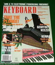 2003 TORI AMOS & BEN FOLDS Tour, Nord Electro 2, Moog PianoBar KEYBOARD Magazine