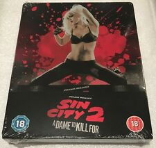 Sin City 2: A Dame To Kill For Steelbook - UK Exclusive Blu-Ray **Region B**