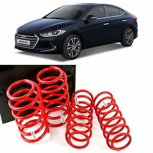 Storm Lowering Down Spring Gasoline type 4p For 17 Hyundai Elantra AD Non-Sports