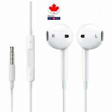 Earphones For iPhone 6/6S/5S/4S W/ Remote & Mic Headphones 3.5 mm Jack free Ring