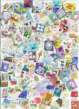 Japan Kiloware Off Paper Packet 100+ Different Small Used Mostly 82Y 2014-2019