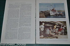 1938 magazine article, SCILLY Scilly Isles, Islands off Cornwall England