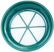 SE Goldwaschpfanne Sieb Classifier Stahlsieb Mesh  4 = 6,35 mm Maschenweite