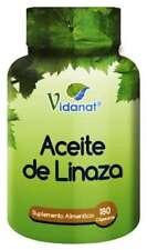 Aceite de Linaza Vidanat 180 Capsulas. Linssed Oil