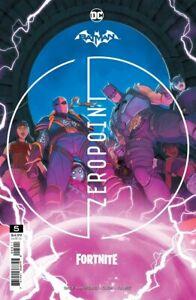 BATMAN FORTNITE ZERO POINT #5 - Mikel Janìn Variant - NM - DC - Presale 06/15