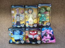 disney store exclusive pixar inside out complete set talking light up Dolls