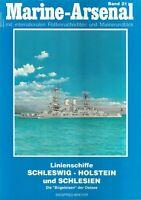 Zeitschrift Marine-Arsenal Band 21, Linienschiffe Schleswig-Holstein u Schlesien
