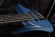 Klein 5-String Electric Bass K-Bass Blue zolatone rareza Collector's item
