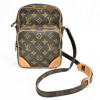 Authentic Louis Vuitton Monogram Amazon Shoulder Crossbody Bag Pochette France