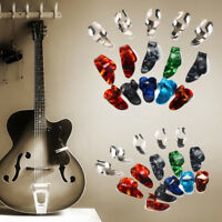 15PCS Stainless Steel Guitar Picks Plectrums Celluloid Thumb Finger Nail Picking