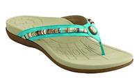 Aetrex Womens HAZEL SUEDE MARIN Flats AE635W Choose Sizes Free shipping NIB