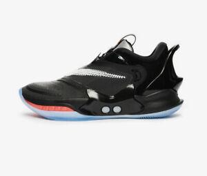 Nike Adapt Auto BB 2.0 Black SELF LACING Uk 9 Us 10 Eu 44 Mag Basketball🏀 💯🔥
