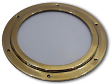 Porthole nautical ship boat window with glass solid brass 10.25''  1.600 kg