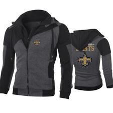 New Orleans Saints Hoodie Fashion Sweatshirt Jacket Autumn Coat Tops Fans Gifts