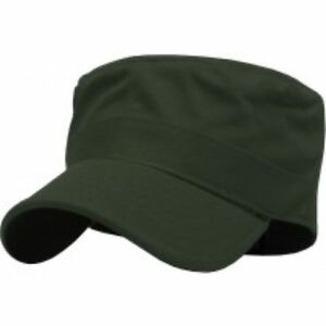 CADET FITTED Caps Army Military Hats Cotton New All Sizes Colors KBETHOS KBK1464