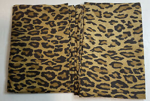Pair 2 RALPH LAUREN HOME Vintage Aragon Leopard Pillowcases King