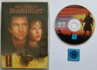⭐⭐⭐⭐ BRAVEHEART ⭐⭐⭐⭐ Mel Gibson ⭐⭐⭐⭐ DVD FSK 16 ⭐⭐⭐⭐ Sophie Marceau ⭐⭐⭐⭐