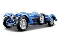 Bugatti Type 59 in Blue (1:18 scale by Bburago 18-12062)