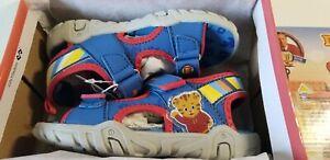 Daniel Tiger Neighborhood Toddler Boys' Fishermen Sandals, Blue - New w/ Box