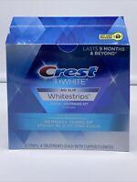 Crest 3D Whitestrips White Strips Teeth Whitening Kit No Slip One Hour Express