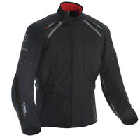 Oxford Subway 3.0 Textile Waterproof Motorcycle Motorbike CE Jacket Black