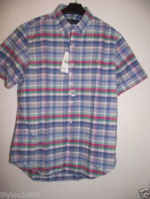 Ralph Lauren Check Regular Size Casual Shirts & Tops for Men